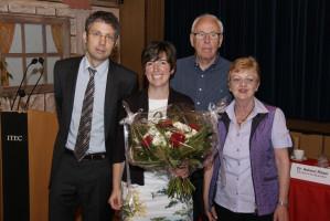Erste Glückwünsche kamen aus dem Parteitagspräsidium von Dr. Helmut Ritzer, Elfi Beck, Michael Groß und Wolfgang Plattmeier.