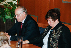 Fritz Körber mit seiner Frau Inge