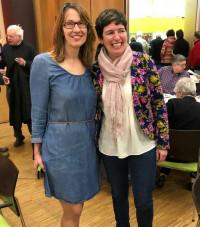 Iris Lederer und Martina Baumann